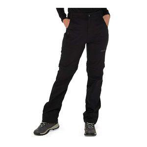 Arctix Women's Convertible Trail Pant Blk 1X Short